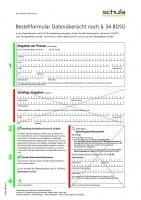 SCHUFA-Auskunft Formular Ausfüllhilfe